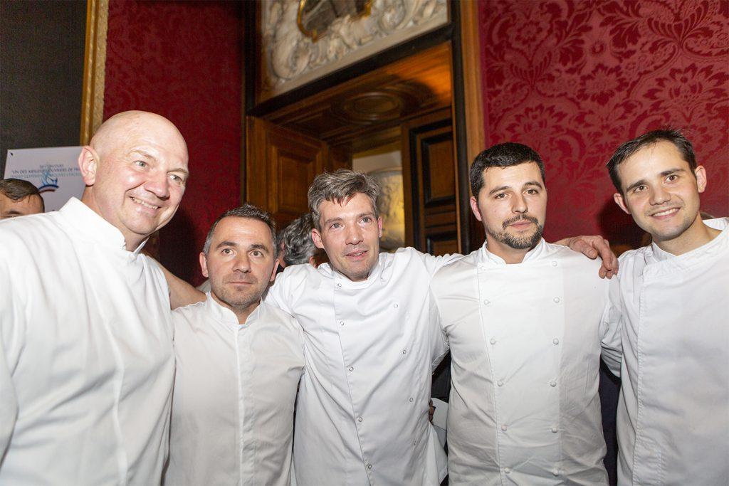 Les gagnants du Meilleur Ouvrier de France Pâtisserie 2018